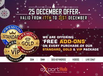 ExportHub has Announced an offer for 25th December